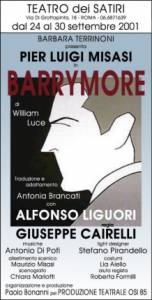 William Luce - Barrymore Locandina