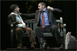 AlfredMolina e Euan Morton nella produzione del Roundabout theatre di New York