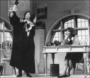 LETTICE AND LOVAGE a New York nel 1990 con Maggie Smith e Margaret Tyzack.  Tutte e due hanno vinto il Tony Award  per la loro interpretazione.