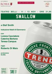 Trend locandina Swallow Stef Smith