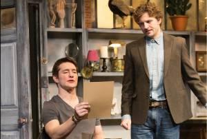 Foto dello spettacolo, con Bill Dawes nel ruolo di Nureyev e Will Connell nel ruolo di Wyeth. La regia era di Michael Mastro